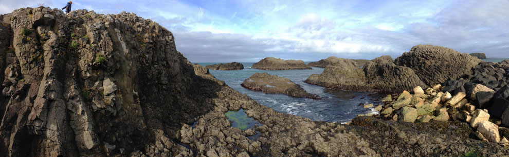 Ballintoy Harbour Rocks