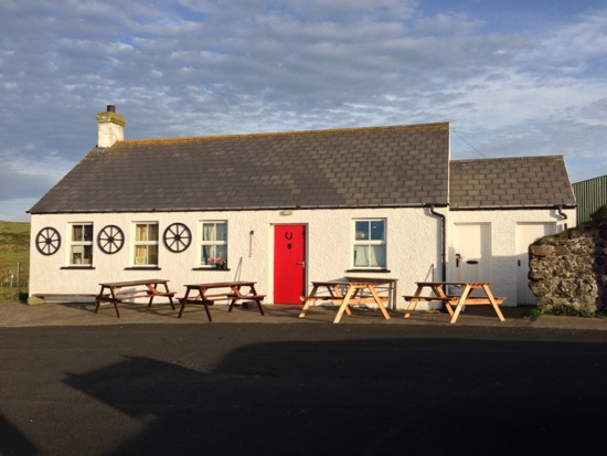 Pub across from Dunluce, outside Bushmills, Northern Ireland