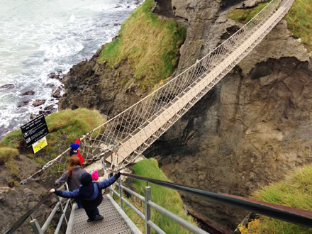 Carrick a Rede - Causeway Coast of Northern Ireland
