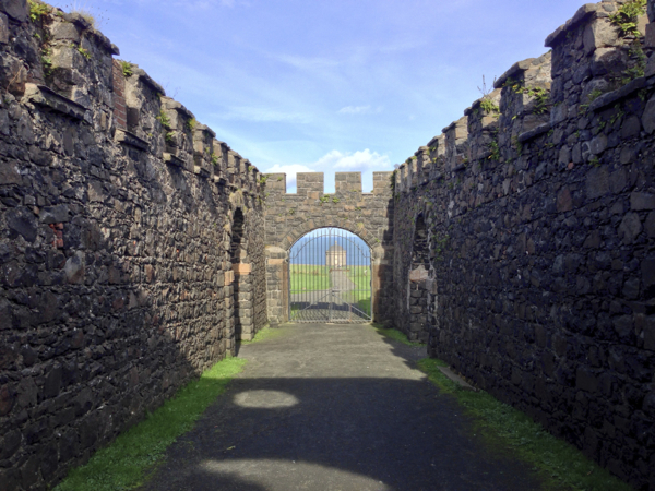 Downhill Demense Gate & Mussenden Temple