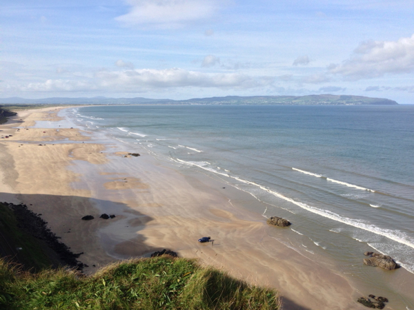 Downhill Beach from Mussenden Temple