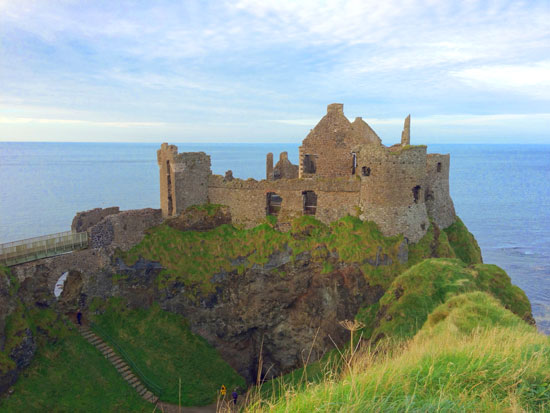 Dunluce Castle - Causeway Coast of Northern Ireland