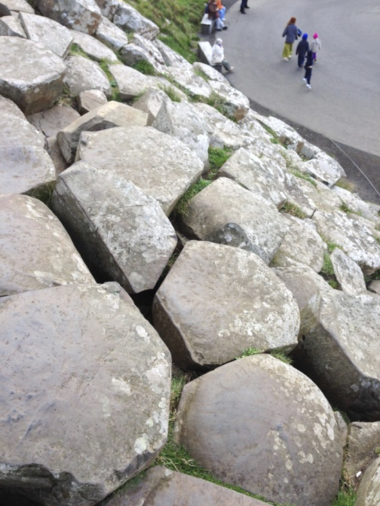 Giant's Causeway, an unusual perspective