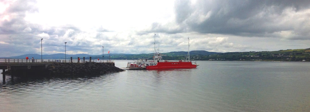Lough Foyle Ferry, Northern Ireland