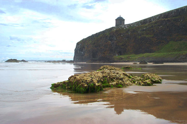 Mussenden Temple - Causeway Coast of Northern Ireland